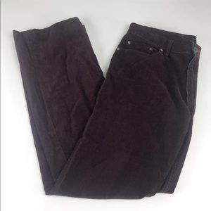 Banana Republic Straight Fit Corduroy Jeans